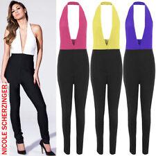 Unbranded Women's Halterneck Jumpsuits & Playsuits