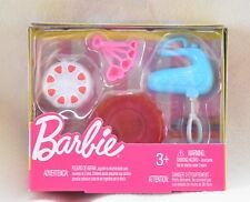 Barbie BAKING Accessories Set *NEW* Cake Mixer Bowl