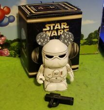"Disney Park Vinylmation 3"" Set 4 Star Wars Snowtrooper with Box"