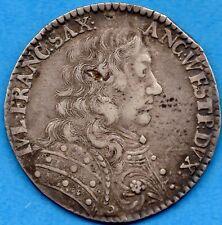 Germany Saxe-Lauenburg 1678 Gulden Silver Coin - Circulated