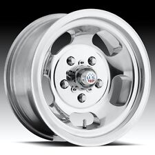 15x8 Us Mag Indy U101 5x4.75 et1 Polished Wheels (Set of 4)
