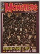 Famous Monsters of Filmland 80 nice copy Planet of the Apes 1970 Warren magazine