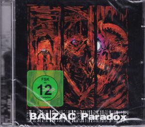 BALZAC Paradox EU Press Gan-Shin GSCD-059 2009 CD + DVD NEW