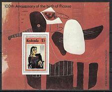 REDONDA:1981 100TH ANNIV. OF THE BIRTH OF PICASSO S/S MNH
