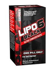 Nutrex Lipo 6 Ultra Concentrate Black Fat Burner - 60 Capsules