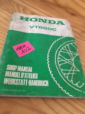 Honda VT600C VT600 C VT 600 shadow custom manuel revue technique atelier