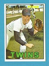 1967 Topps Baseball Card #246 Jim Perry (Minnesota Twins) EX+ AJ00387