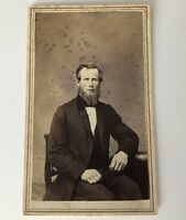 CDV Photo Utica NY Mundy Williams Blue Tax Stamp New York Antique Photograph