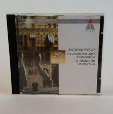 Antonio Vivaldi Concerti per Liuto e Mandolino IL GIARDINO ARMONICO cd TELDEC