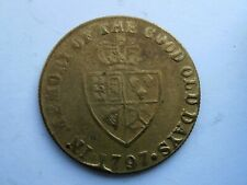 1797 Gaming Token   'In Memory of the Good days'  very collectable