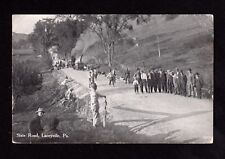 Postcard Laceyville Pa State Road Wyoming County