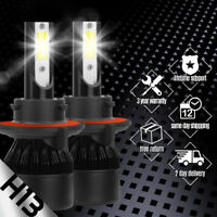 XENTEC LED HID Headlight Conversion kit H13 9008 6000K for 2011-2012 Ram 5500