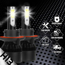Xentec H13 9008 LED Headlight Bulbs Kit for Ford F150 High Low Beam 6500K