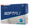 BRAND NEW MAXFLI SOFTFLI MATTE BLUE GOLF BALLS RETAIL BOX 2 DOZEN 24