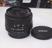 Nikon 28mm F2.8 AI-S serie E Prime Lens AIS Made in Japan GREAT CONDITION