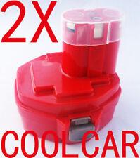2X Battery For Makita Maktec 14.4V 2.0Ah Ni-Cd 1420,6228,6233, 6339 MT064 1450