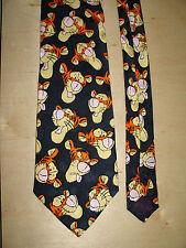 The Disney Store Tiger Tie 100% Silk 58L 4W T-1