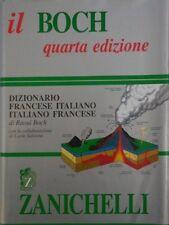 J 1822 LIBRO IL BOCH 4A EDIZIONE DIZIONARIO FRANCESE ITALIANO DI RAUL BOCH 2000