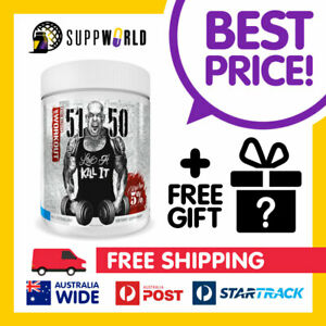 Rich Piana 5% Nutrition 5150 Pre Workout Energy Caffeine Supplement