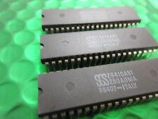 Z8410AB1, Z 80 Adma, SGS, controlador de memoria directa Acess, 4MHZ-2MB/s, ** 2 Fichas **