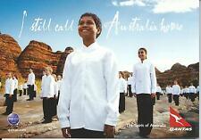 QANTAS Larger Size Postcard Purnulula Nat Park West Aust New Both Sides Shown