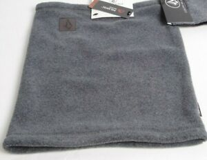 2021 NWT WOMENS VOLCOM W POLARTEC FACEWARMER $38 OS Heather Grey stone patch