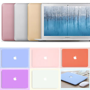 12 Colors Matte Hard Case Cover Shell for Macbook Air 13 A1466 A1932 A2179 A2237