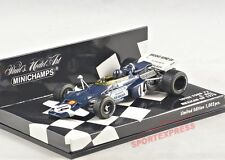 NEW 1/43 Minichamps 400700014 Lotus Ford 72, Mexico GP 1970, Graham Hill #14