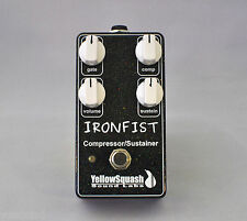 IronFist Compressor/Sustainer Guitar Pedal by YellowSquash Sound Labs LLC