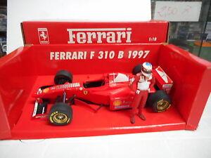 MINICHAMPS 1/18 - F1 FERRARI F310 B 1997 CON FIGURA DI M.SCHUMACHER