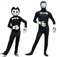 Kids Boys Bendy and the Ink Machine Costume Jumpsuit Halloween Party Fancy Dress