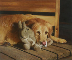 Custom Pet Portrait Oil Painting from Photo,Photo to Oil Painting,100% Handmade