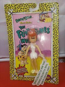 WILMA  FLINTSTONE Just Toys Bend-Ems Flintstones-Figure