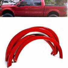 For 09-14 Ford F150 Painted Red Code E4 Fender Flare Wheel Protector OE Style