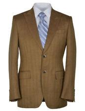 Canali Men's Wool Blend Regular Jacket Two Button Blazers & Sport Coats