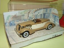 AUBURN SPEEDSTER 1936 Marron  MATCHBOX Y-19 1:42