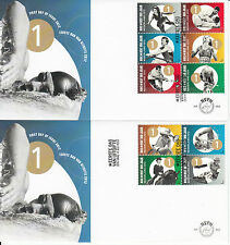 Netherlands Nederland 2012 FDC NOC*NSF 100 Years 10v/2 Covers Dutch Olympic Comm