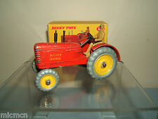 "VINTAGE DINKY TOYS MODEL No.300 ""MASSEY HARRIS""  TRACTOR"