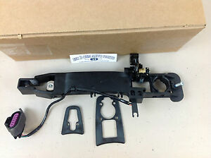 2008 Cadillac CTS Right Front Outside Door Handle BRACKET HOUSING KIT new OEM