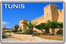 TUNIS FRIDGE MAGNET SOUVENIR IMÁN NEVERA TÚNEZ