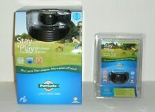 New listing Petsafe Stay + Play Pif00-12917 Wireless Pet Fence & Pif00-14288 Receiver Collar