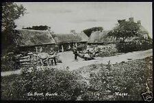 Glass Magic Lantern Slide LA FORT C1890 SARK CHANNEL ISLANDS PHOTO