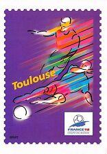 BR30015 Toulouse En route pour la XVI Coupe du Monde de Football stamps