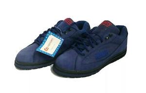 vintage new york giants eastport sneakers shoes mens size 10.5 deadstock NIB 90s