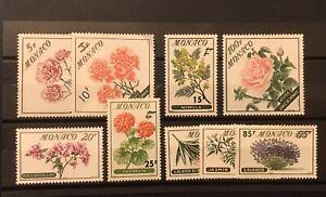 Monaco 1959 Flowers MH