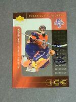 Roberto Luongo Auto Chicago Blackhawks 2001-02 Upper Deck Ice Clear Cut