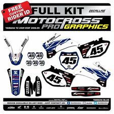 YAMAHA YZF 250 / 450  2006 2007 2008 2009 MX Graphics Decals Stickers Decallab