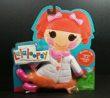 LaLaLoopsy Doll Winter Coat White Pink Orange Fashion Pack Standard Size Dolls