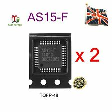 2 pieces of AS15-F AS15F INTEGRATED CIRCUIT TQFP-48 - New UK Stock