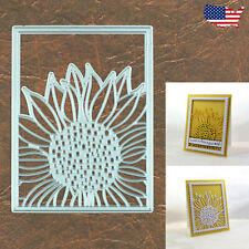 Sunflower Background Cutting Die